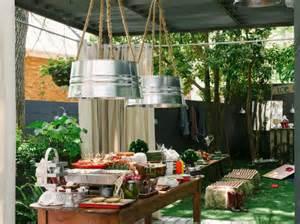 Backyard Barbecue Wedding Shower