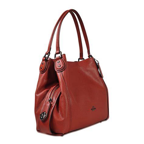 coach edie 31 shoulder bag brown clearance sale coa008039 133 93 coach new york