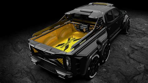 See more ideas about mercedes, mercedes truck, 6x6 truck. 6-Wheel Mercedes X-Class Custom Is Pickup Of Your Nightmares