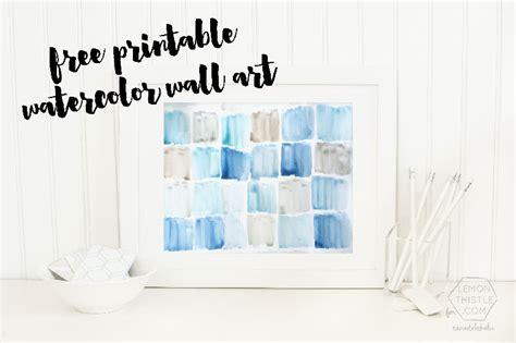 coastal bathroom wall decor remodelaholic free printable watercolor
