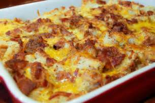 Bacon Egg and Cheese Breakfast Casserole