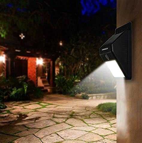 2 pack inarock large size 8 led outdoor bright solar