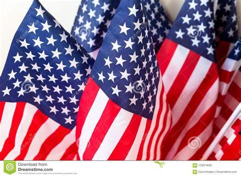 een reeks vlaggen de verenigde staten amerika