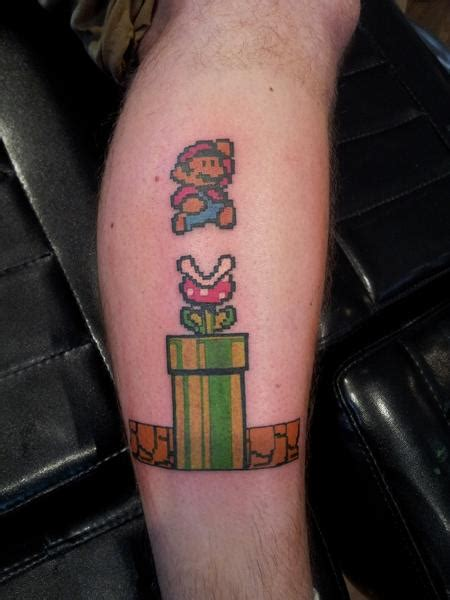 mario tattoo designs