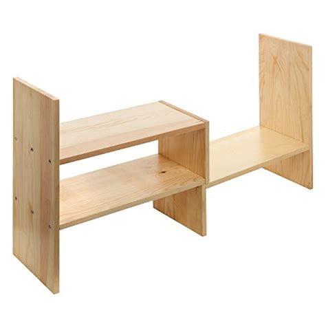 natural wood desk top adjustable natural wood desktop storage organizer display