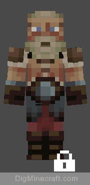norse mythology bonus skin pack  minecraft
