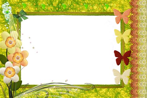Border Background Hd by Frames Png Nature Frames