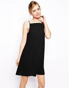 asos robe droite toute simple asos pickture With robe simple noir