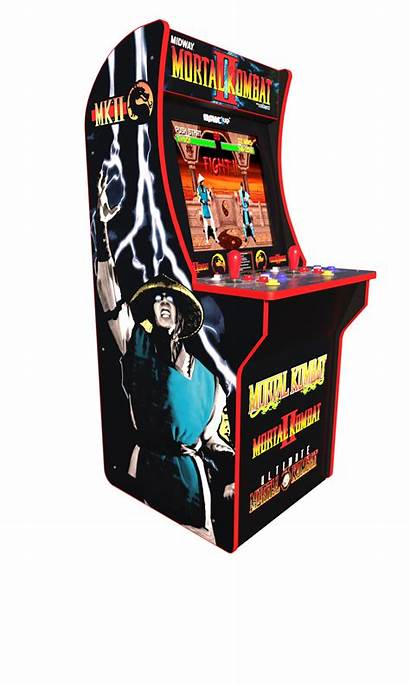 Arcade Kombat Mortal Arcade1up Walmart Machine Ii
