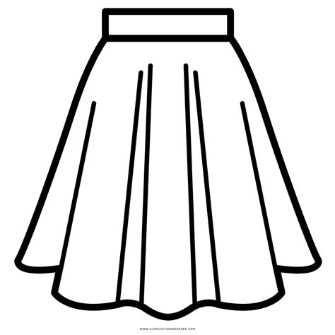 skirt clipart black and white skirt coloring page ultra coloring pages