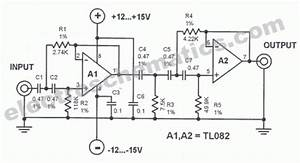 Subsonic Audio Filter Circuit