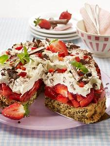Glutenfreier Kuchen Kaufen : yogurette torte mit erdbeeren das rezept f r erdbeergl ck for your gluten free friends ~ Watch28wear.com Haus und Dekorationen