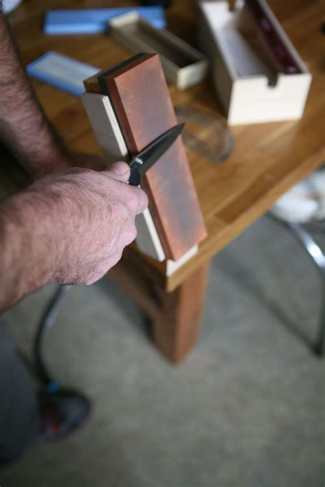 Kitchen Knife Sharpening Jig by How To Build A Diy Knife Sharpening Jig Modern