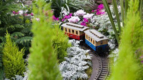 Garden Train Bing Wallpaper Download