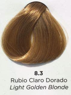 coloracion  cuidado del cabello escala intensidad de