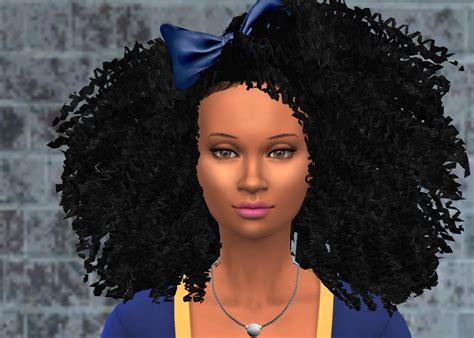 New Curly Hair For Your Sims 4