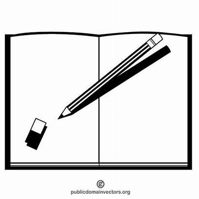 Pen Clipart Clip Crayons Vector Crayon Clipartmag
