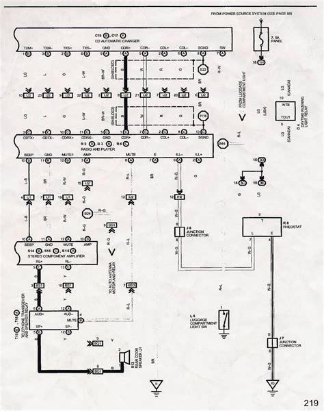 Gen Radio Wiring Diagram Question Clublexus