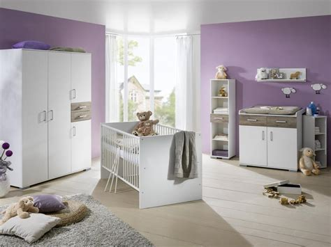 Babybett Babyzimmer Komplett Kinderwagen Wickelkommode