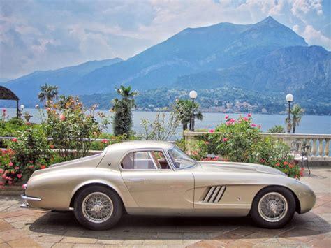 Retractable headlights, had fins growing out of the roof. The Traveling Gentleman   Ingrid Bergman's 1954 Ferrari 375 MM