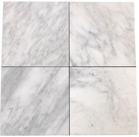 carrara marble tile 12x12 carrara pietra marble honed 12x12 quot subway floor and wall tile