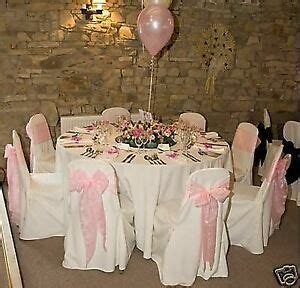 wedding chair covers and table accessories hire only ebay