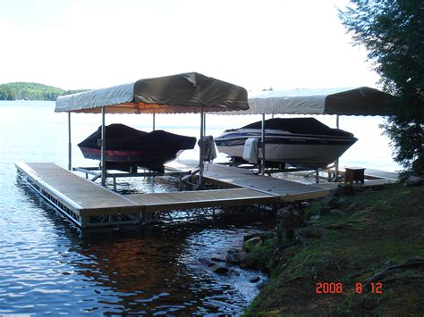 Boat Lift Beams by Cantilever Boat Lifts R J Machine