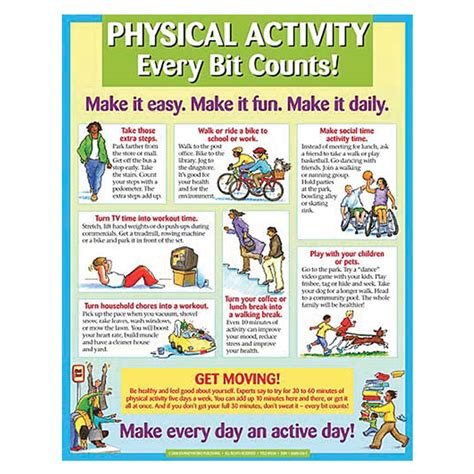 physical activity poster