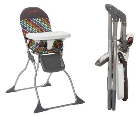 Cosco Simple Fold High Chair by Walmart Cosco Simple Fold High Chairs Only 29 Hip2save
