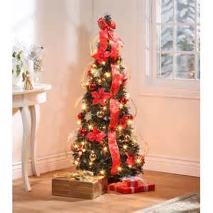 4 red poinsettia pull up tree by northwoodstm walmart com