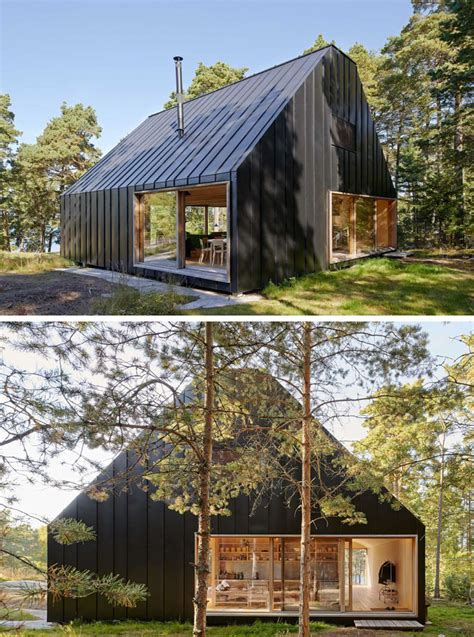 Small Modular Scandinavian Style Home by Scandinavian Retreat Prefab From Finland Homes Home