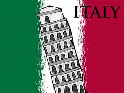 Italy Clipart Italian Flag Clip Language Cliparts