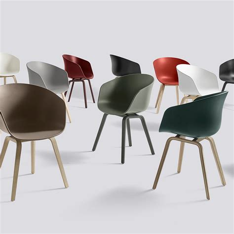 Hay Stuhl Replica by Buy Aac Chair By Hay With Coloured Frame