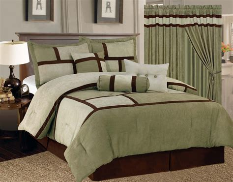 bedroom duvet and curtain sets curtains ideas with bedding for bedrooms green white comforter