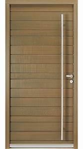 Porte D Entrée En Bois Moderne : porte d 39 entr e bois porte d 39 entr e en bois vitr e r sobaies ~ Nature-et-papiers.com Idées de Décoration
