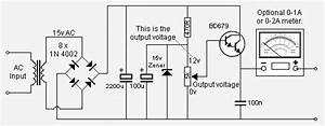 Circuit Panel  Handy 0 12v Dc Power Supply Electronic Diagram