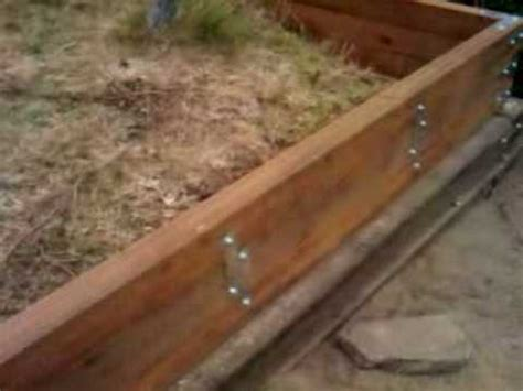 backyard retaining wall youtube