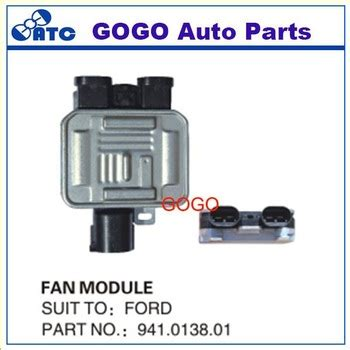 high quality cooling fan control unit module relay radiator coolant fan control  ford mondeo