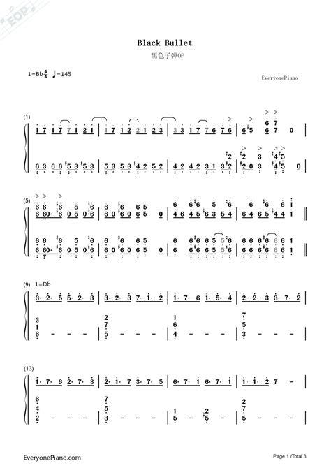 black bullet black bullet op fripside numbered musical