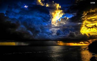 Desktop Thunderstorm Backgrounds Background Wallpapers Storm Lightning