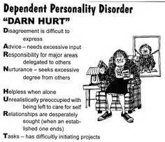 Dependent personality disorder as related to Avoidant