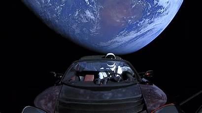 Tesla Space Roadster Into Wallpapers Suit 4k