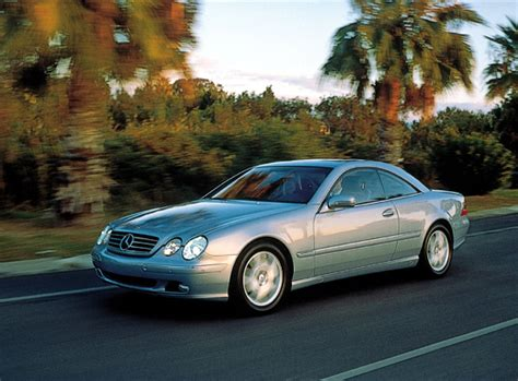 2001 Mercedes-benz Cl Class Pictures/photos Gallery