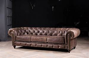Sofa Retro : chesterfield sofa classic sofa with vintage leather for ~ Pilothousefishingboats.com Haus und Dekorationen