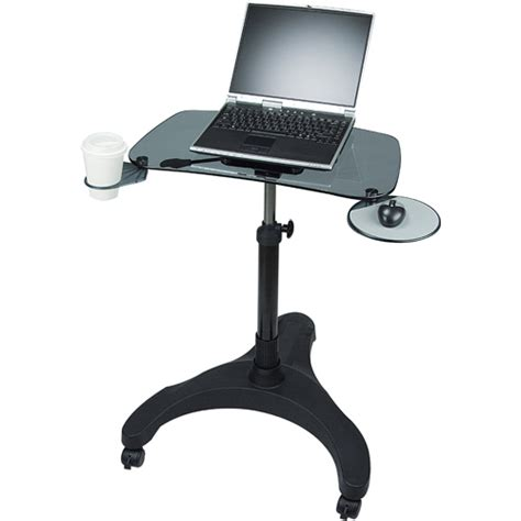 laptop desk portable workstation aidata portable laptop desk in computer and laptop carts