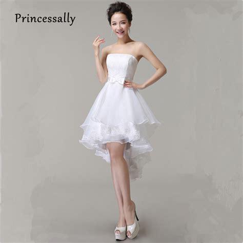 Aliexpresscom  Buy High Low Wedding Dresses Puffy Mid