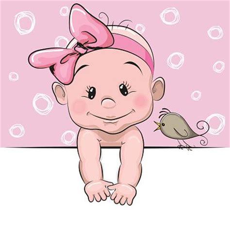 chambre b2b2 bébé fille dessin animé mignon illustration vectorielle