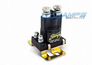 New Stinger Pro 80 Amp Dual Battery Isolator  U0026 Relay Car Truck Stereo Wiring