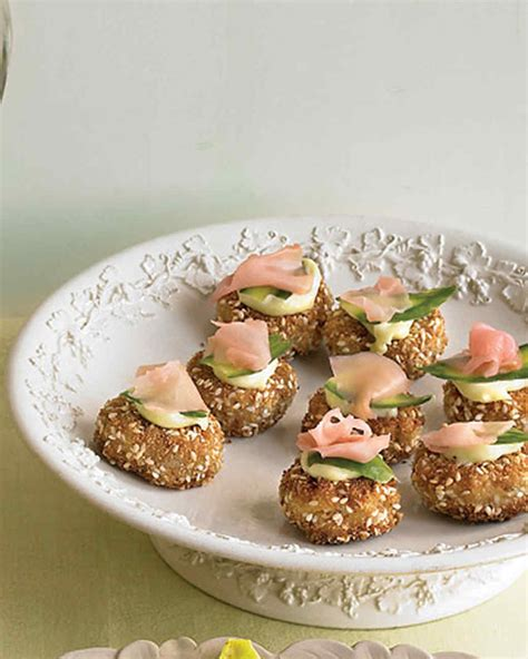 freezable canapes how to host an easy martha stewart