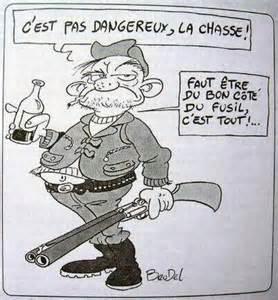 Résultat d'images pour chasseurs caricatures